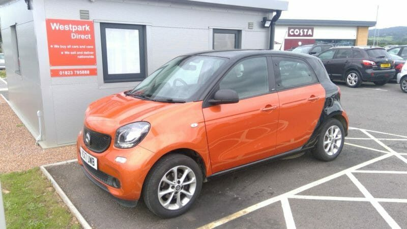 Used Smart ForFour 1.0 Passion 5 Dr